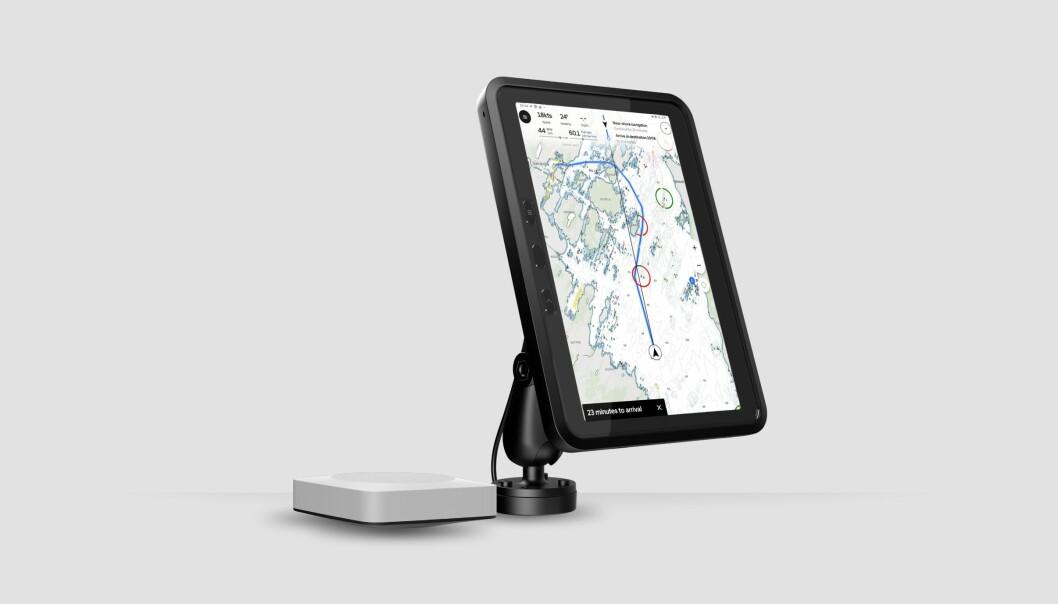 NAVIGASJON: Orca er en ny norsk produsent av et nettbrettbasert navigasjonssystem.