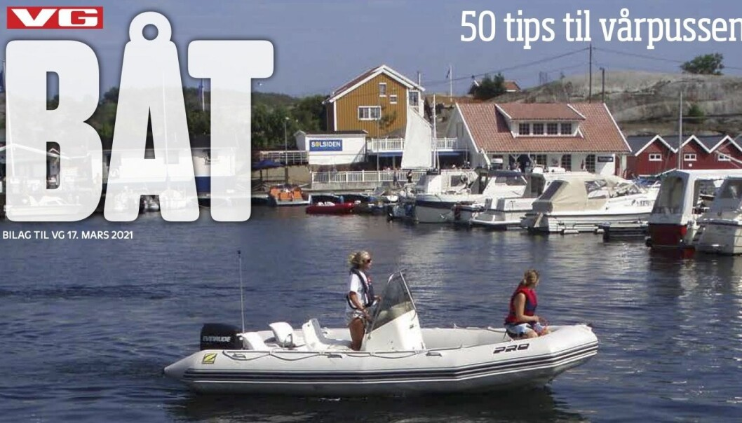 VG Båt er i salg over hele landet, og innholdet er laget av Båtmagasinet-redaksjonen.