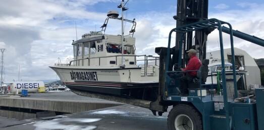 Skade påført båt av marina