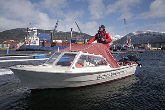 Fra Bergen til Bodø i 15 fots Rana!
