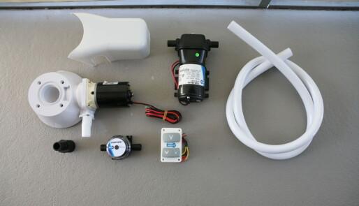 Bygg om fra manuelt til elektrisk toalett