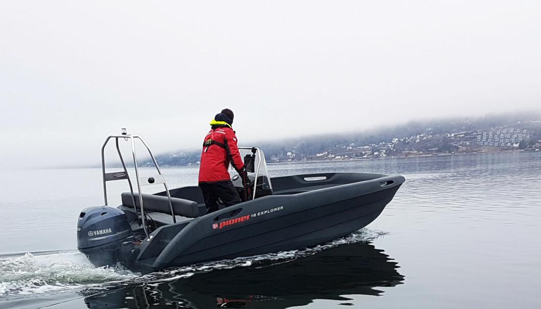 ROTASJONSTØPT: Pioner 16 Explorer er lansert til båtsesongen 2021.