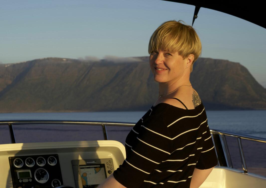 PÅ KURS: Etter mange års prosjektering, nærmer Erika Krøvel seg målet om å realisere båtprosjektet Krovel 65 i Nederland.