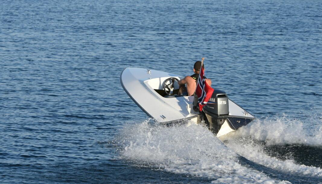 FLERE UNGE: Båtbransjen merker fornyet interesse for båtlivet blant de helt unge båtbrukerne.