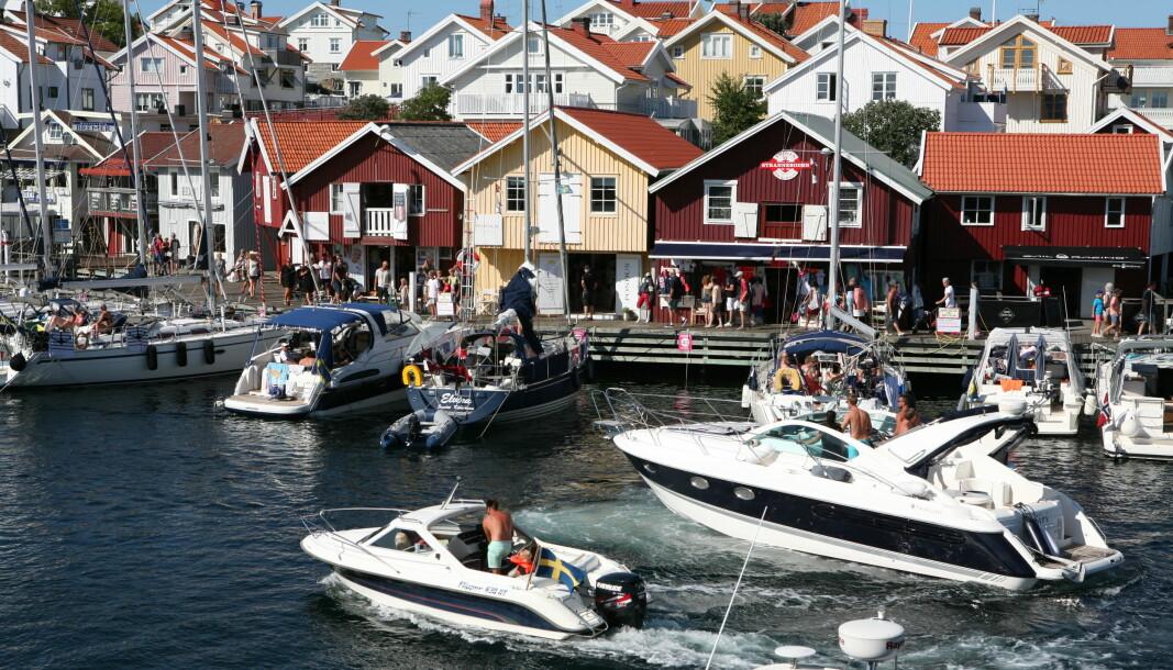 IKKE I ÅR: Innreisereglene som gjelder frem til 20. august tilsier at vi neppe kan reise til Sverige med båten denne sommeren heller.