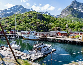 Tre havner i Lofoten