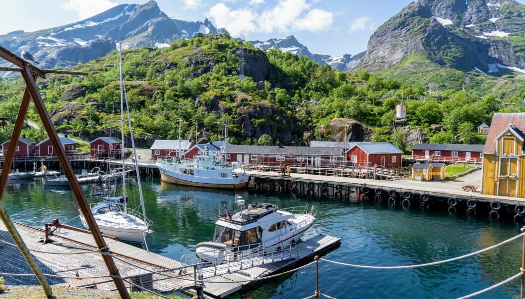 EN PERLE: Nusfjord har blomstret etter en nedgangsperiode på begynnelsen av 2000-tallet