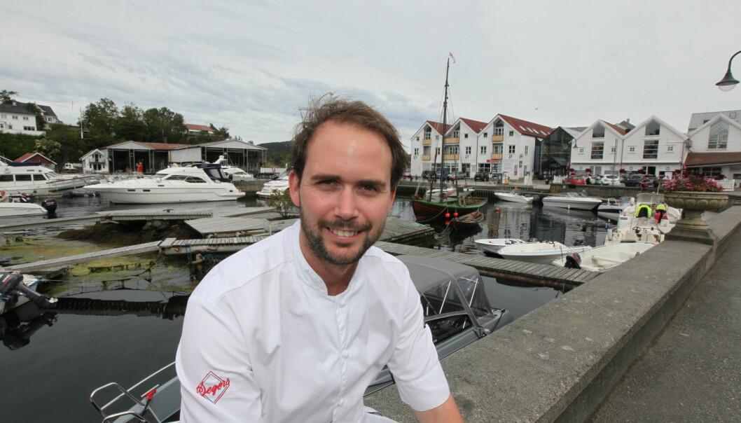 PÅ KARTET: Den prisvinnende kokken Ørjan Johannessen har bidratt sterkt til å sette Bekkjarvik på kartet.