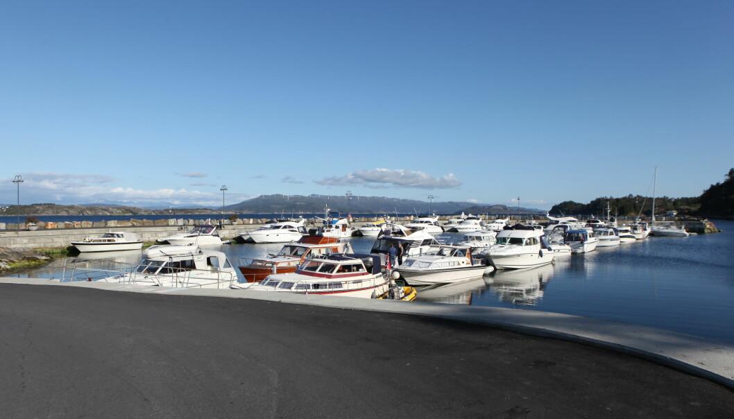 EN AV TRE: Den første store havneutbyggingen på sørsiden ble etterfulgt av nok en havn i 2019.