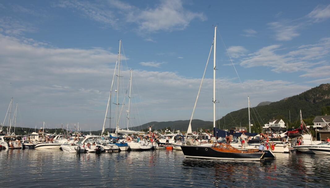 AVLYST: En rekke av sommerens største arrangementer er avlyst i år, blant annet Tysnesfest på Tysnes.