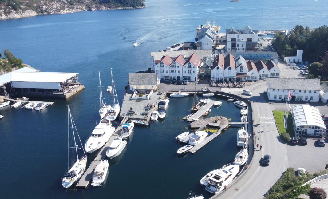 NY SEIER: Bekkjarvik har sterk posisjon blant gjestehavnene på Vestlandet. Her fra indre havn.