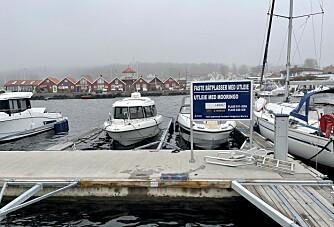 Her reserverer du båtplass digitalt