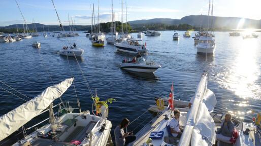 Middagsbukta stripa for båtfolket