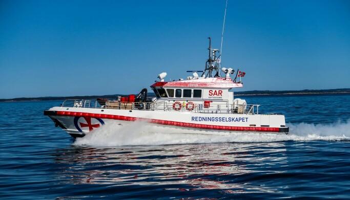 KAPTEIN BUHRE: Nå seiler en betydelig oppgradert «RS Kaptein Skaugen» videre som «RS Kaptein Buhre». FOTO: REDNINGSSELSKAPET.