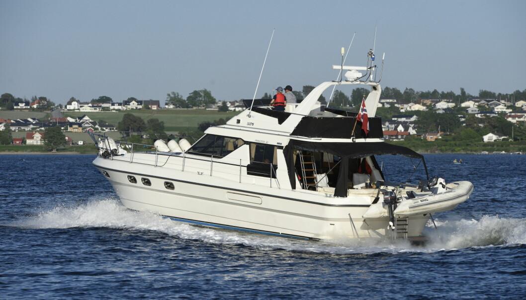SUKSESS: Den første 45-foteren fra Princess la grunnlaget for produsentens vekst i Middelhavet.