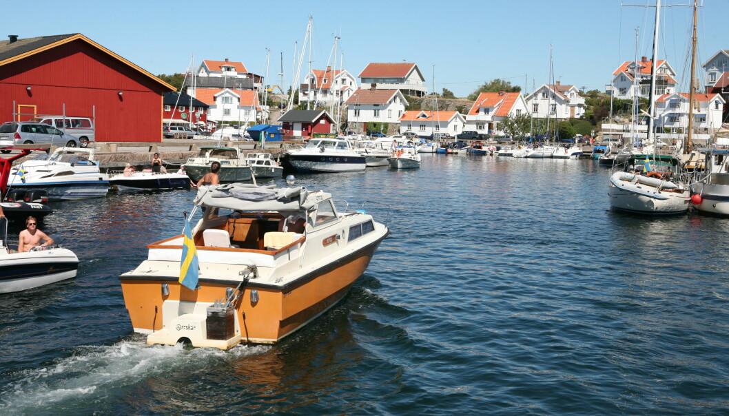 TUR OVER GRENSEN: Sverige har flere muligheter for båtferie i sommer, her fra Mollösund.