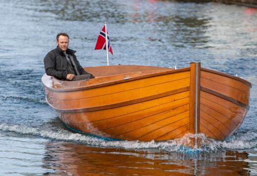Hans Inge bygde sin egen drømmebåt