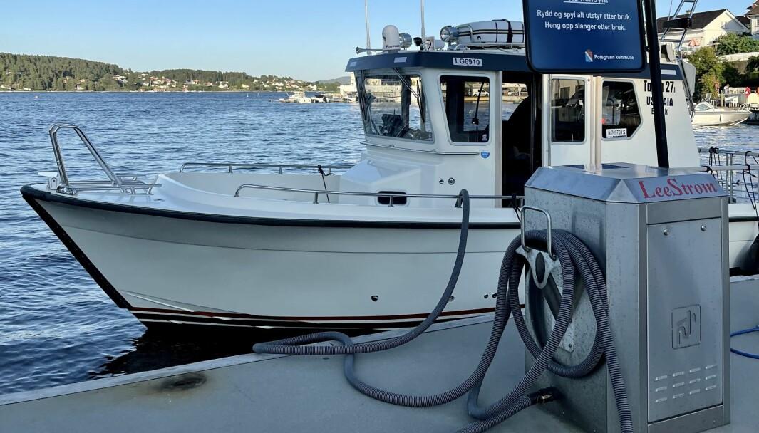KAN BLI FORBUD: Eldre båter kan påregne ombygging av septiktanken.
