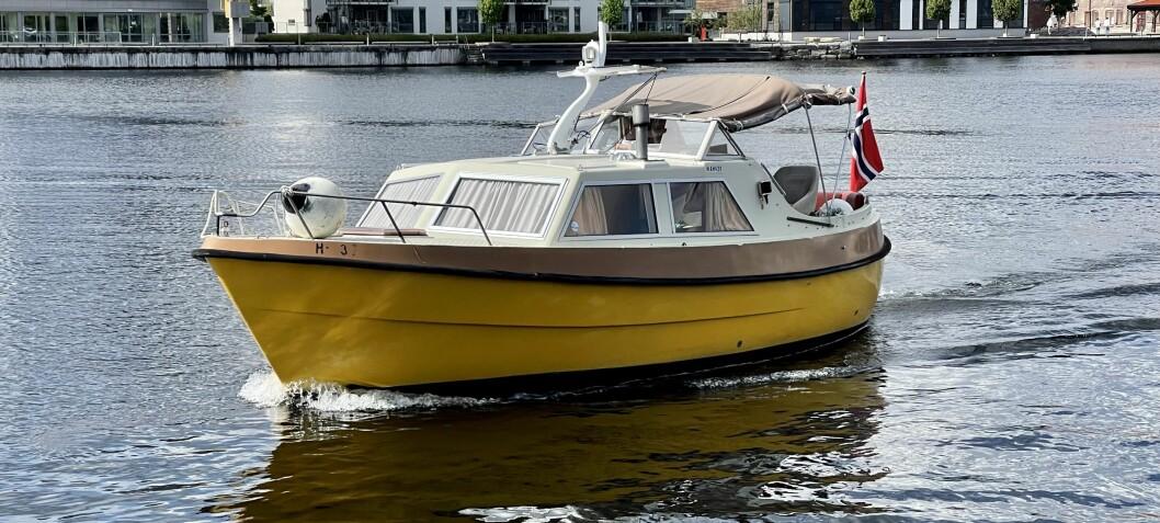 Viksund 27 Columbi: Båtliv på sparebluss