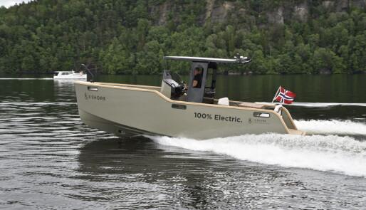 - Farten må ned skal el-båtene lykkes