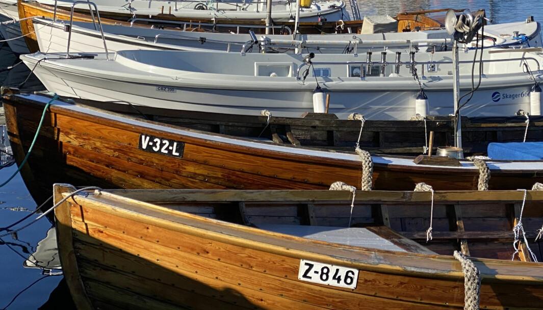 FRIVILLIG: I dag står båteiere fritt om de ønsker å registrere båten sin..