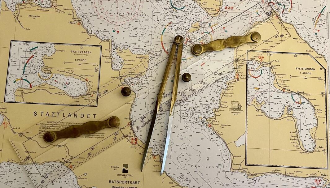 BÅTFØRERPRØVEN: I dag kreves det kun teori for å bestå båtførerprøven. Arkivfoto Båtliv.