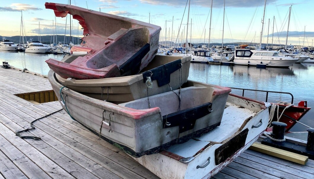 VRAKPANT: I dag får du 1000 kroner for båten, uansett størrelse, opp til 15 meter. Foto: Jørn Finsrud.