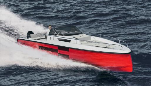 Hanse lanserer ny motorbåt