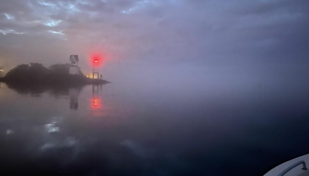VIS HENSYN: Mørkere årstid gir nye utfordringer og mer ansvar for deg som båtfører.