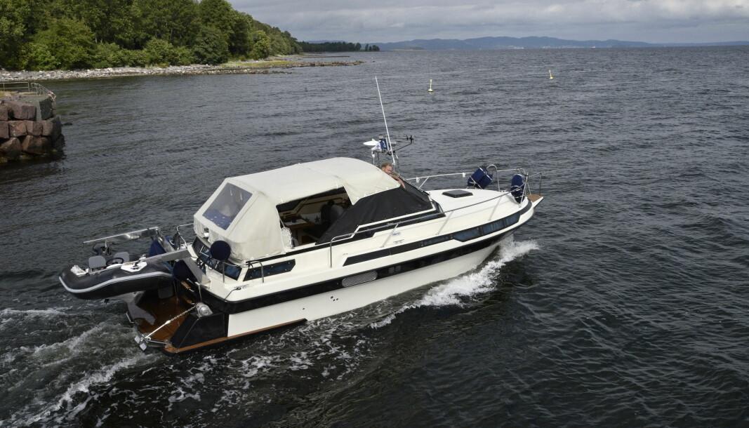 SCAND NORDIC 27: Båten til Odd Roar Schmidt er jevnt blitt oppgradert siden 1987.