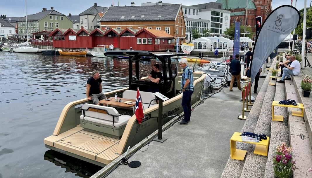LYDLØS: I juni ble det arrangert el-båtkonferanse i Arendal. (FOTO: ATLE KNUTSEN).