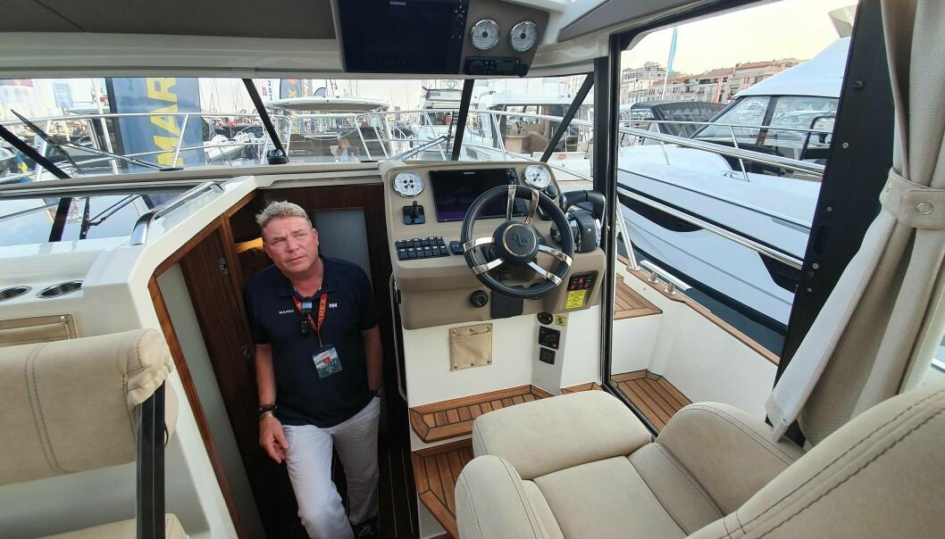 DYRERE: Råvareprisene har skutt i været, og det gir dyrere båter, sier Espen Aalrud i Marex