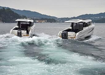 COX mot Suzuki: Diesel mot bensin på akterspeilet