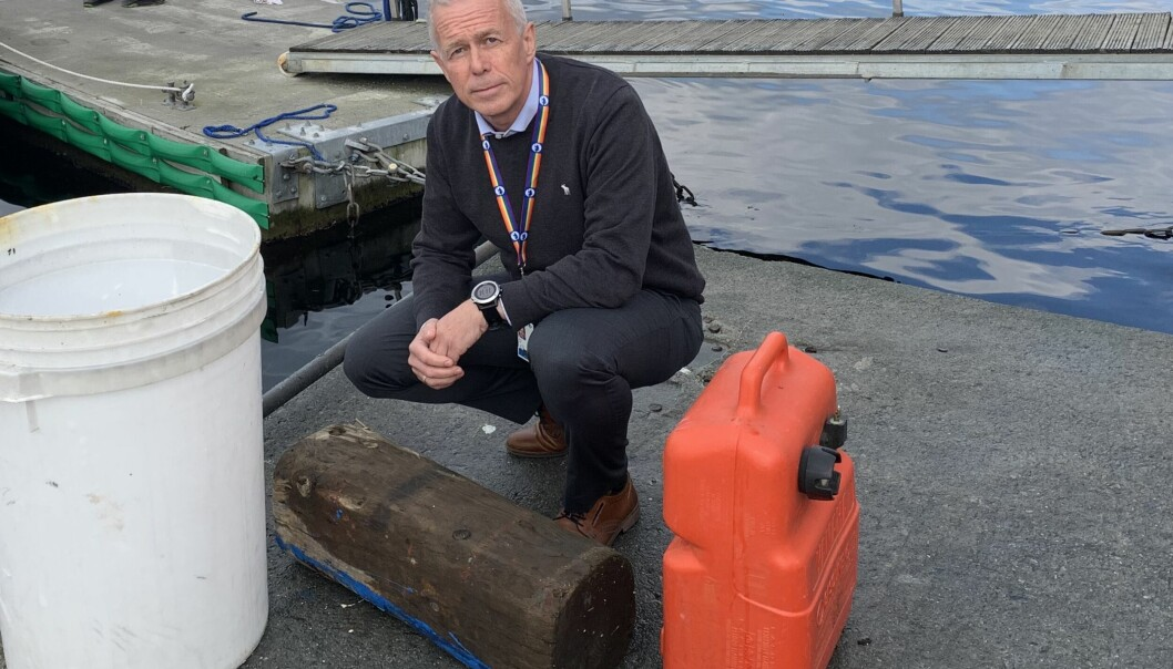Arne Voll i Gjensidige sier at avfall i sjøen utgjør et stadig større problem for forsikringsselskapene
