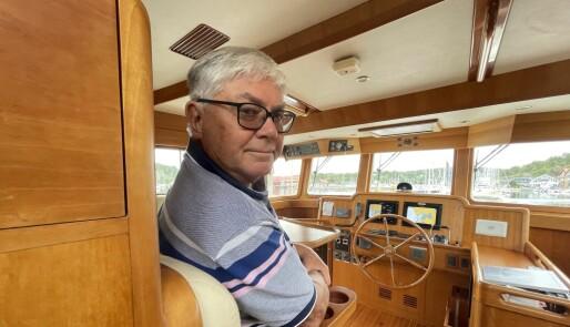 Gunnar (75) til rors fra Torrevieja til Son